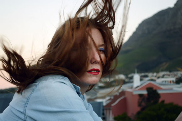 Girl with wind in her hair | portrait photography